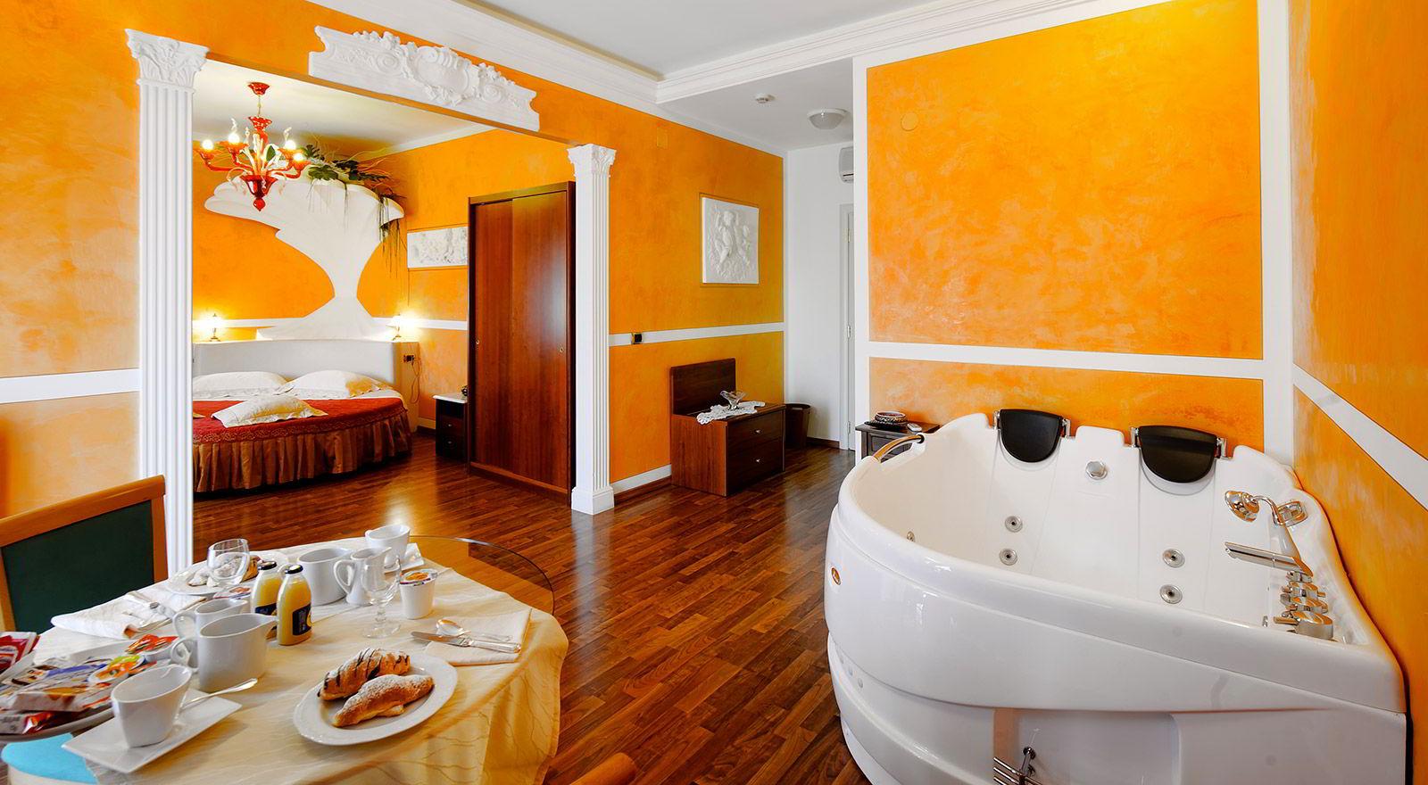 Camera Con Vasca Idromassaggio Per Due : Suite con vasca idromassaggio in umbria camere con vasca