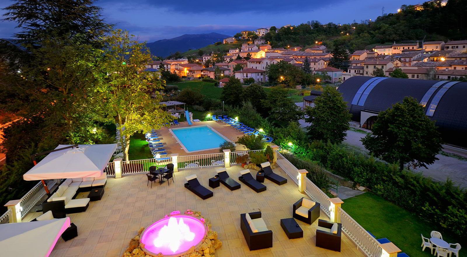 Hotel spa umbria centro benessere in umbria hotel benessere villa fiorita - Hotel con piscina umbria ...